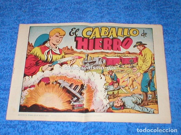 CHISPITA 2ª SEGUNDA AVENTURA Nº 5 TEBEO ORIGINAL 1952 EL CABALLO DE HIERRO EDITORIAL GRAFIDEA MIRA ! (Tebeos y Comics - Grafidea - Chispita)