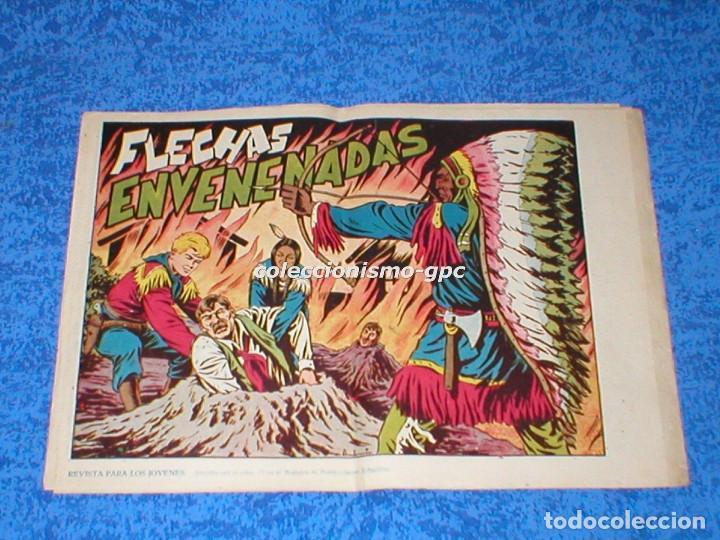 CHISPITA 2ª SEGUNDA AVENTURA Nº 7 TEBEO ORIGINAL 1952 FLECHAS ENVENENADAS EDITORIAL GRAFIDEA MIRA !! (Tebeos y Comics - Grafidea - Chispita)