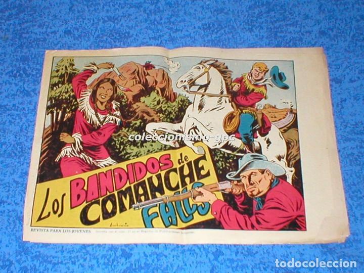 CHISPITA 2ª SEGUNDA AVENTURA Nº 8 TEBEO ORIGINAL 1952 LOS BANDIDOS DE COMANCHE FALLS EDIT. GRAFIDEA (Tebeos y Comics - Grafidea - Chispita)