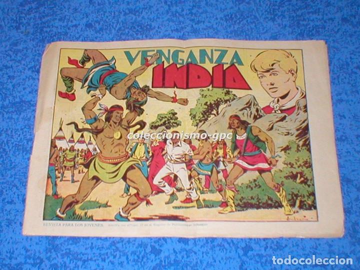 CHISPITA 2ª SEGUNDA AVENTURA Nº 9 TEBEO ORIGINAL 1952 VENGANZA INDIA EDITORIAL GRAFIDEA OFERTA MIRA (Tebeos y Comics - Grafidea - Chispita)