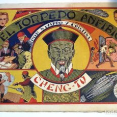 Giornalini: EL TORPEDO ANFIBIO - CHENG TU - COMIC ED. GRAFIDEA. Lote 162351722