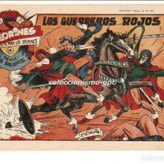 Tebeos: COLORINES SERIE LUIS VALIENTE Nº 14 TEBEO ORIGINAL 1958 LOS GUERREROS ROJOS EDIORIAL GRAFIDEA. Lote 163588086