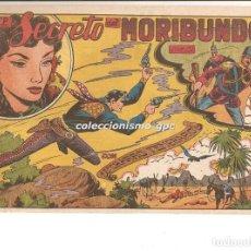 Tebeos: EL CHARRO TEMERARIO Nº 13 TEBEO ORIGINAL 1953 EL SECRETO DEL MORIBUNDO EDITORIAL GRAFIDEA OFERTA !!!. Lote 163767782
