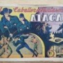 Tebeos: EL CABALLERO FANTASMA ATACA - Nº 5 (ORIGINAL) - ED. GRAFIDEA. Lote 165309102