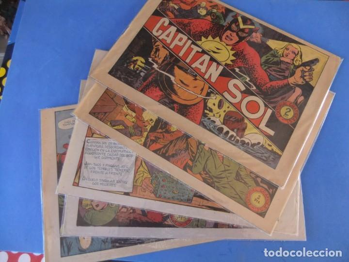 EL CAPITAN SOL LOTE DE 5 NUMEROS ORIGINALES EDITORIAL GRAFIDEA (Tebeos y Comics - Grafidea - Otros)