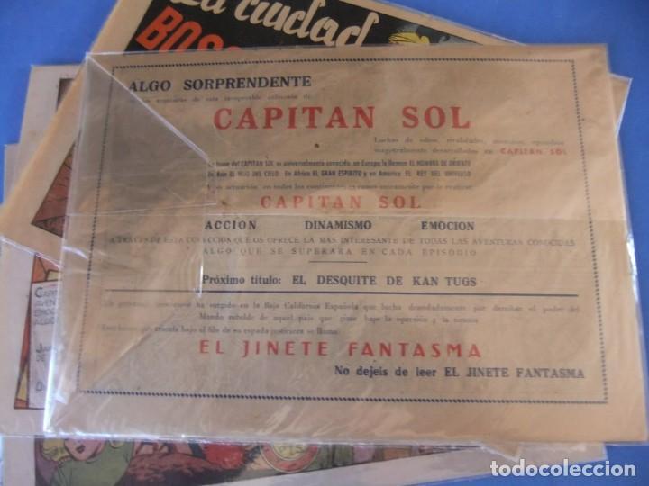Tebeos: EL CAPITAN SOL LOTE DE 5 NUMEROS ORIGINALES EDITORIAL GRAFIDEA - Foto 3 - 165941562