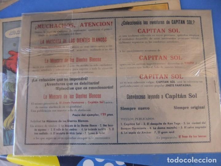 Tebeos: EL CAPITAN SOL LOTE DE 5 NUMEROS ORIGINALES EDITORIAL GRAFIDEA - Foto 9 - 165941562