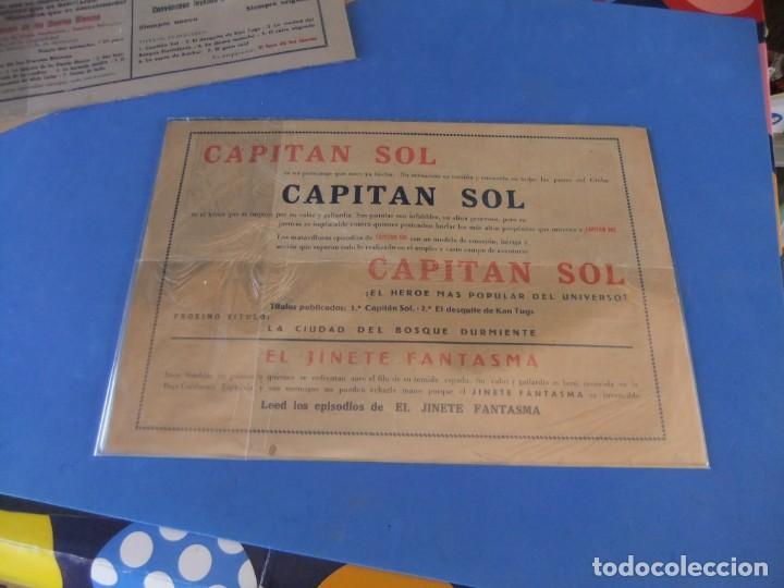 Tebeos: EL CAPITAN SOL LOTE DE 5 NUMEROS ORIGINALES EDITORIAL GRAFIDEA - Foto 11 - 165941562