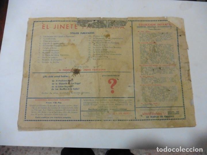 Tebeos: JINETE FANTASMA Nº 29 ORIGINAL - Foto 2 - 167463292