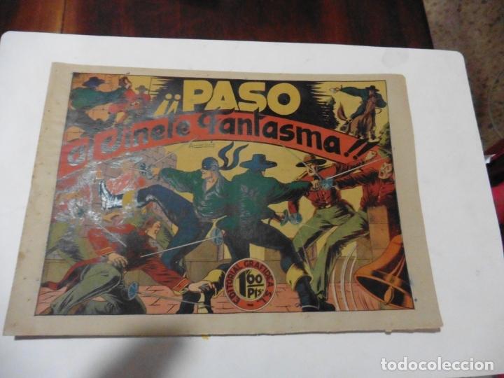 Tebeos: JINETE FANTASMA 17 CUADERNILLOS ORIGINAL - Foto 3 - 167463832