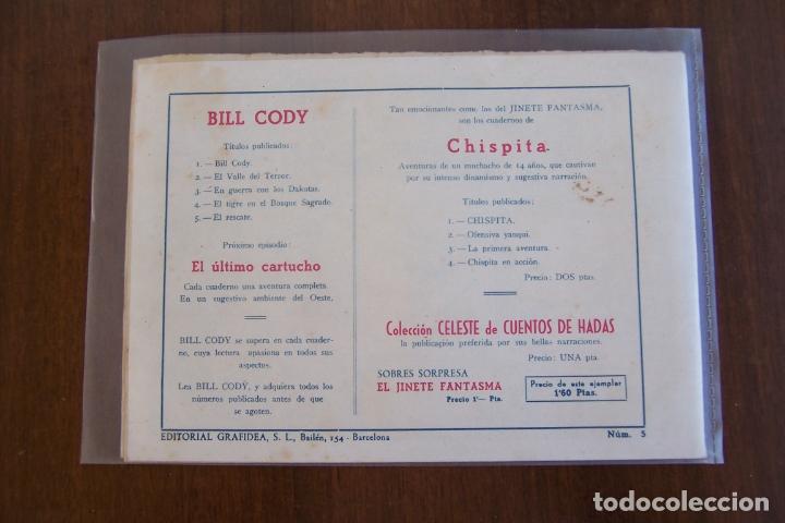 Tebeos: grafidea bill cody originales nº 1-3-4-5-6-8 - Foto 8 - 32972310