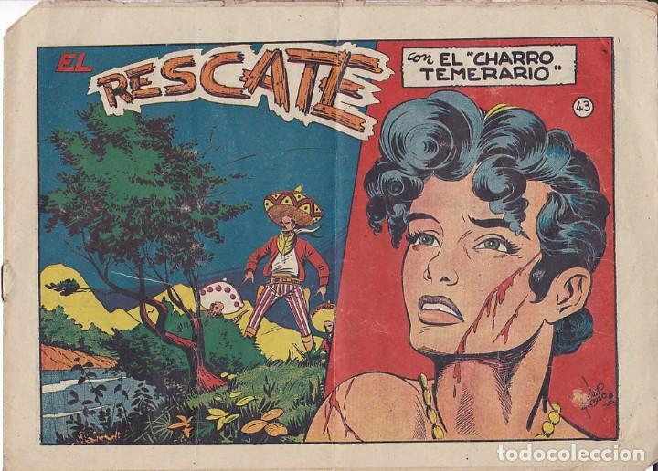 COMIC COLECCION EL CHARRO TEMERARIO Nº 43 (Tebeos y Comics - Grafidea - El Charro Temerario)