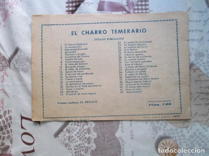 Tebeos: EL CHARRO TEMERARIO Nº 42 - Foto 2 - 173238763