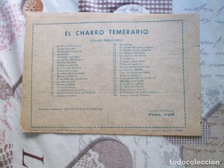Tebeos: EL CHARRO TEMERARIO Nº 38 - Foto 2 - 173239292