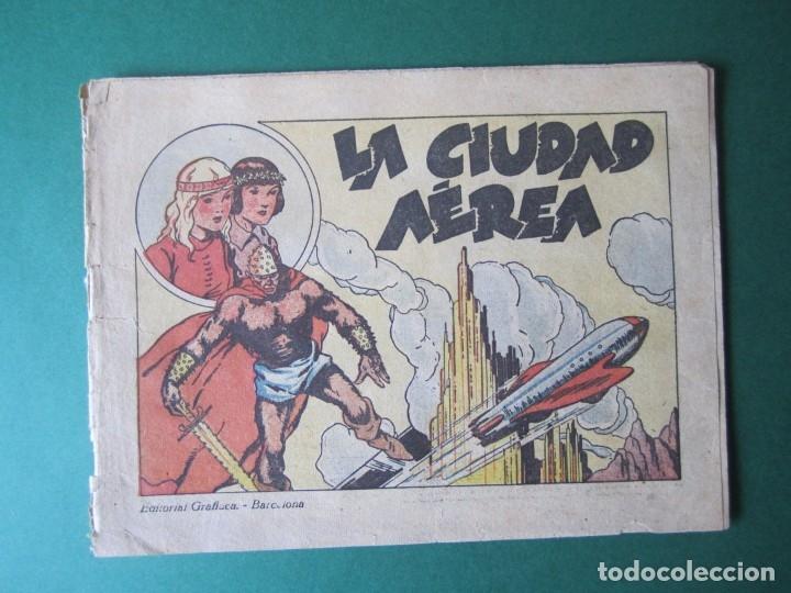 MONOGRAFICOS (1942, GRAFIDEA) 1 · 1942 · LA CIUDAD AÉREA (Tebeos y Comics - Grafidea - Otros)