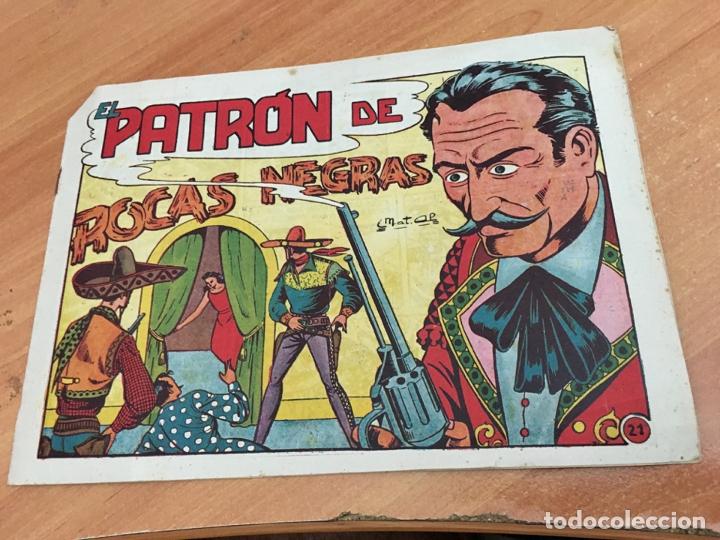 EL CHARRO TEMERARIO Nº 21 EL PATRON DE ROCAS NEGRAS (ORIGINAL GRAFIDEA) (COIB25) (Tebeos y Comics - Grafidea - El Charro Temerario)