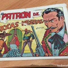 Tebeos: EL CHARRO TEMERARIO Nº 21 EL PATRON DE ROCAS NEGRAS (ORIGINAL GRAFIDEA) (COIB25). Lote 173819919