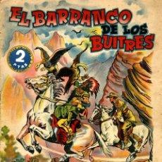 Giornalini: EL BARRANCO DE LOS BUITRES (GRAFIDEA) DE CANELLAS CASALS Y LOZANO OLIVARES. Lote 173965300