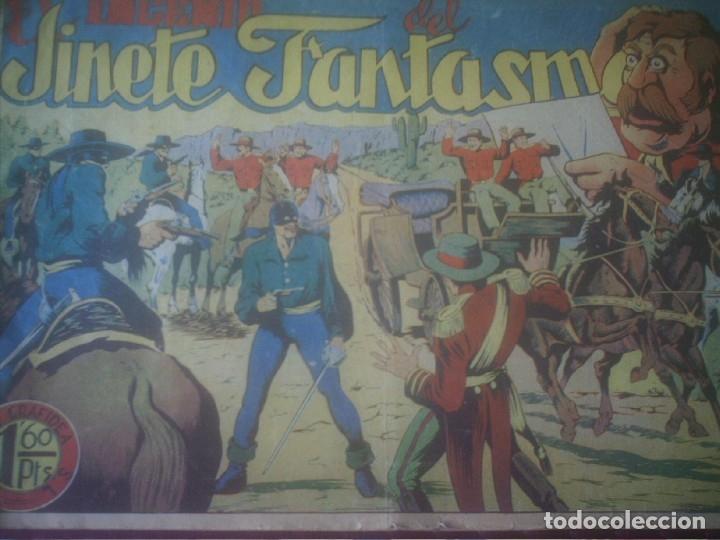 Tebeos: EL INGENIO DEL JINETE FANTASMA Nº 24 GRAFIDEA - Foto 2 - 175158988