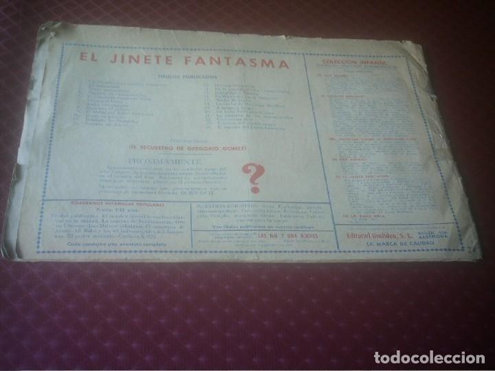 Tebeos: EL INGENIO DEL JINETE FANTASMA Nº 24 GRAFIDEA - Foto 13 - 175158988