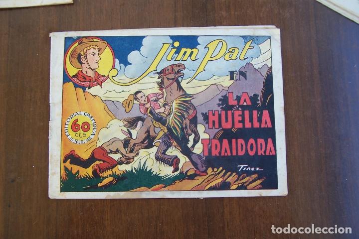 GRAFIDEA,- JIM PAT Nº 6 LA HUELLA TRAIDORA (Tebeos y Comics - Grafidea - Otros)