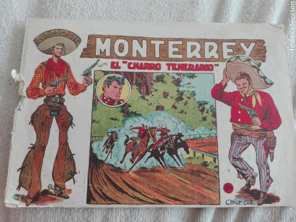 EL CHARRO TEMERARIO MONTERREY 20 (Tebeos y Comics - Grafidea - El Charro Temerario)