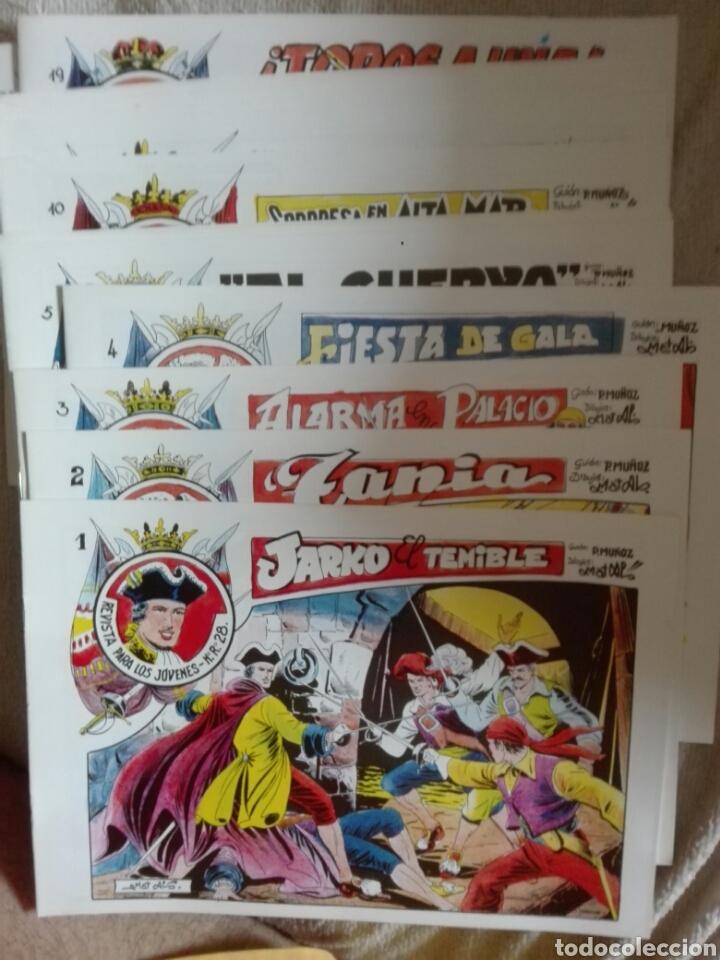 JARKO EL TERRIBLE LOTE DEL 1 AL 20 INCLUSIVE (Tebeos y Comics - Grafidea - Otros)