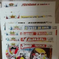 Tebeos: JARKO EL TERRIBLE LOTE DEL 1 AL 20 INCLUSIVE. Lote 175800158