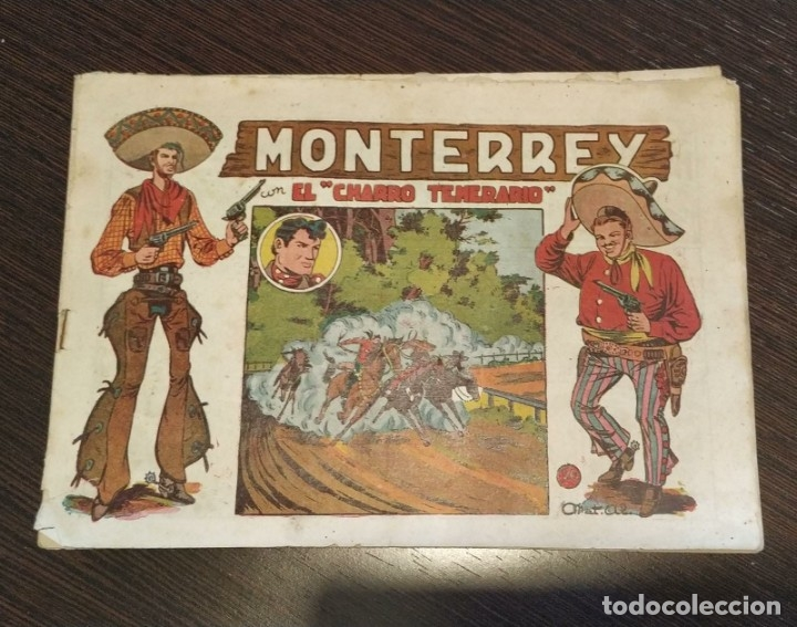MONTERREY CON EL CHARRO TEMERARIO, NUMERO 20. EDITORIAL GRAFIDEA. (Tebeos y Comics - Grafidea - El Charro Temerario)