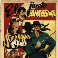 Tebeos: EL JINETE FANTASMA. ALMANAQUE 1948 (GRAFIDEA) DIBUJOS: AMBRÓS. Lote 177620792