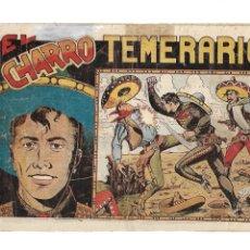 Tebeos: EL CHARRO TEMERARIO, AÑO 1953 COLECCIÓN COMPLETA SON 44 TEBEOS ORIGINALES Y MUY DIFICIL DE CONSEGIR.. Lote 177732825