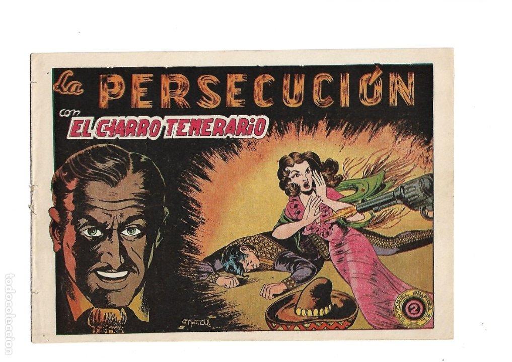 Tebeos: El Charro Temerario, Año 1953 Colección Completa son 44 Tebeos Originales y muy dificil de consegir. - Foto 2 - 177732825