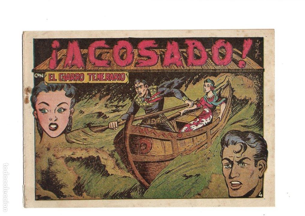 Tebeos: El Charro Temerario, Año 1953 Colección Completa son 44 Tebeos Originales y muy dificil de consegir. - Foto 4 - 177732825