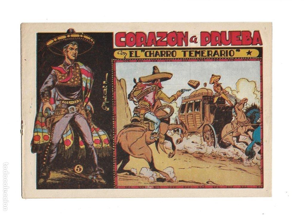Tebeos: El Charro Temerario, Año 1953 Colección Completa son 44 Tebeos Originales y muy dificil de consegir. - Foto 5 - 177732825