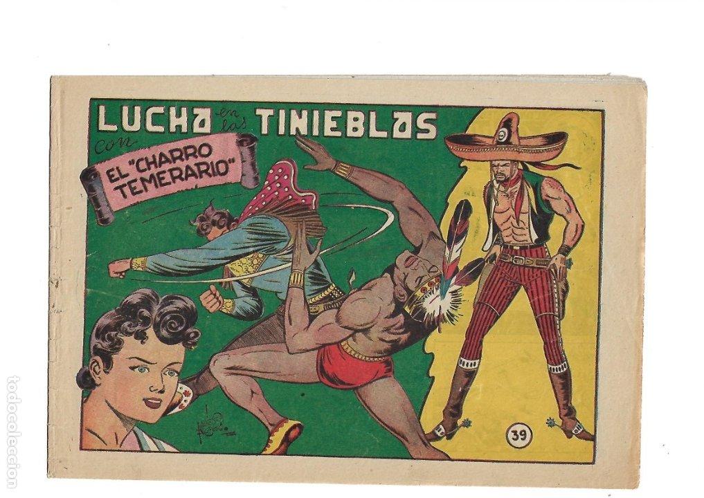 Tebeos: El Charro Temerario, Año 1953 Colección Completa son 44 Tebeos Originales y muy dificil de consegir. - Foto 7 - 177732825
