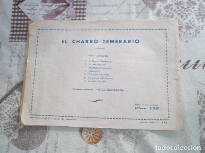 Tebeos: EL CHARRO TEMERARIO Nº 7 - Foto 2 - 177781052