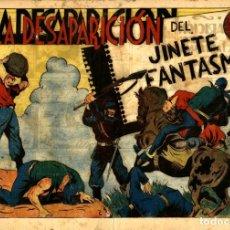 Tebeos: EL JINETE FANTASMA-103: LA DESAPARICIÓN DEL JINETE FANTASMA (GRAFIDEA, 1947) DE AMBRÓS Y AMORÓS . Lote 177882894