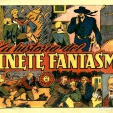 Tebeos: EL JINETE FANTASMA-86: LA HISTORIA DEL JINETE FANTASMA (GRAFIDEA, 1947) DE AMBRÓS Y AMORÓS . Lote 177982792
