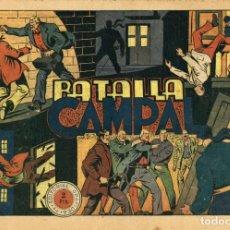 Tebeos: EL JINETE FANTASMA-77: BATALLA CAMPAL (GRAFIDEA, 1947) DE AMBRÓS Y AMORÓS . Lote 177983080