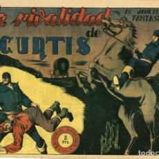 Tebeos: EL JINETE FANTASMA-74: LA RIVALIDAD DE CURTIS (GRAFIDEA, 1947) DE AMBRÓS Y AMORÓS . Lote 177983238