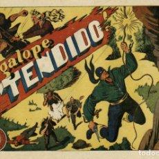Tebeos: EL JINETE FANTASMA-72: A GALOPE TENDIDO (GRAFIDEA, 1947) DE AMBRÓS Y AMORÓS . Lote 177983642
