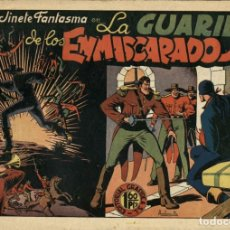Tebeos: EL JINETE FANTASMA-14: LA GUARIDA DE LOS ENMASCARADOS (GRAFIDEA, 1947) DE AMBRÓS Y AMORÓS . Lote 177984199