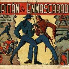 Giornalini: EL JINETE FANTASMA-4: CAPITÁN DE ENMASCARADOS (GRAFIDEA, 1947) DE AMBRÓS Y AMORÓS. Lote 178563922