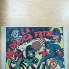 Tebeos: JINETE FANTASMA #35 LA DROGA FATAL. Lote 178782372
