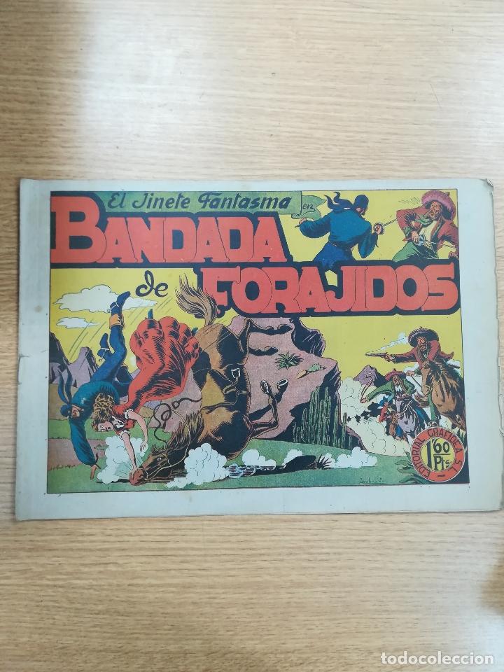 JINETE FANTASMA #11 BANDADA DE FORAJIDOS (Tebeos y Comics - Grafidea - El Jinete Fantasma)