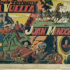Giornalini: EL JINETE FANTASMA Nº 18 LA VUELTA DE DON JUAN MENDOZA ORIGINAL. Lote 178893840