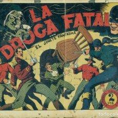 Giornalini: EL JINETE FANTASMA Nº35 LA DROGA FATAL ORIGINAL. Lote 178894832