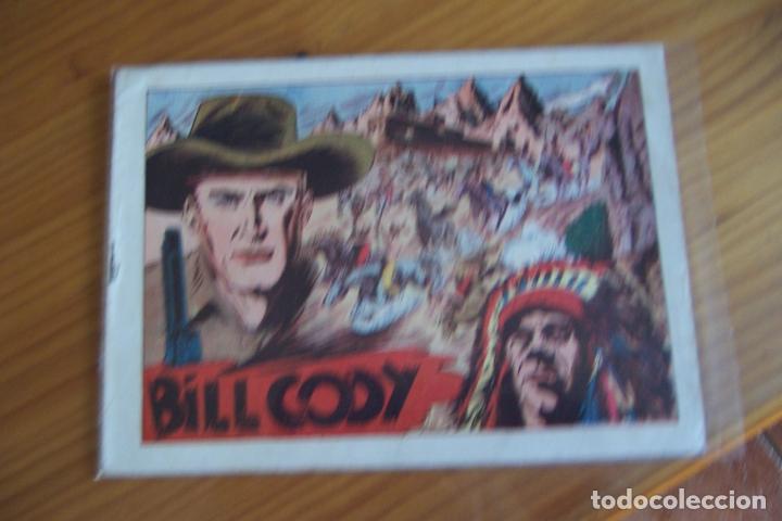 GRAFIDEA BILL CODY ORIGINALES Nº 1-3-4-5-6-8 (Tebeos y Comics - Grafidea - Otros)