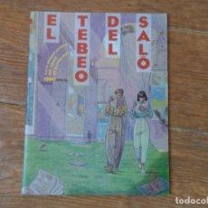 Tebeos: EL TEBEO DEL SALO 1900 INCLUYE EL REMAKE DE AMBROS DEL JINETE FANTASMA. Lote 184279306