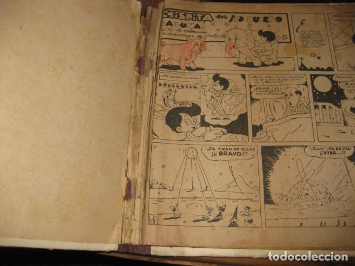 Tebeos: chispita en yo quiero la luna . cañellas . ilustrador adriano . ed augusta . sin recortables - Foto 3 - 184359885